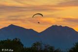 Paramotor  Sunset   25