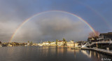 Rainbow Over Beaver Bay  3