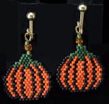 Pumpkin Earrings - sold