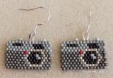 Camera Earrings #3 - sold