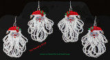 Santa with Fringe Beard - sold