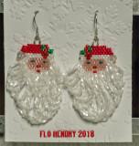 Santa with Fringe Beard (#11)