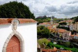 Sintra, view from the National Palace