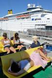 Leaving Split to Brac Island