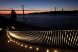 25 April Bridge from MAAT