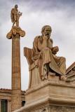 Statues of Socrates & Apollo