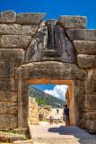The Lion Gate, Mycenea
