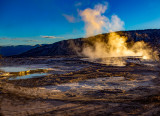 Yellowstone National Park - MAMMOTH HOT SPRINGS