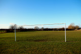 The old football field