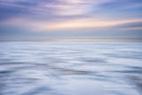 Lake Superior evening mood, abstract