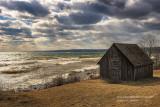 The famous Fishing shack