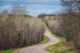 Driving through the Blue Hills