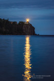 Split Rock lighthouse on July 4th
