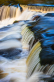 Close-up, Upper Cascades, Bond Falls 2