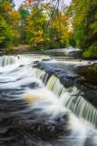 Upper cascades at Bond Falls 2