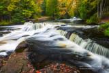 Upper cascades at Bond Falls 3