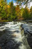 Upper cascades at Bond Falls 4