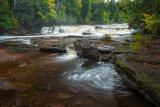 Manido Falls with swirl