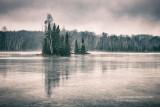 A moody winter scene