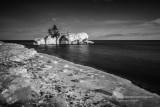Hollow Rock in black & white