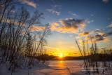 Sunset, Audie Lake