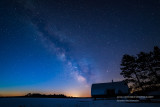 Milky Way at crack of dawn
