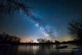 Milky Way at the banks of the Chippewa river