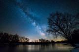 Milky Way at the banks of the Chippewa river 2
