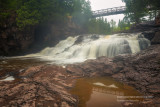 Fifth Falls on a rainy spring day