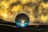 Lake Superior through a Lens Ball