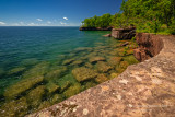 Madeline Island shoreline