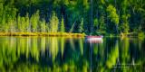 Fishing on Audie Lake