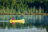 Morning Canoe paddle