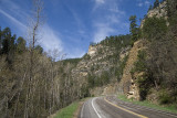 Spearfish Canyon to Mount Rushmore via Roughlock Falls