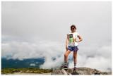 A cloudy Sugarloaf summit