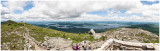 Panorama from Avery summit