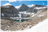 Unnamed lake below Forester Pass