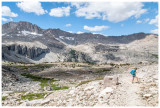 Heading to Vidette Meadows