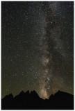Milky Way above Kearsarge Pinnacles