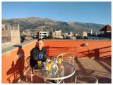 Rooftop breakfast