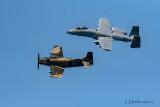 A-10 Warthog & A-1 Skyraider
