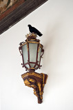 Luxurious Lantern Topped With Pigeon