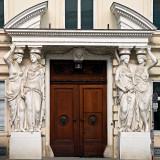 Caryatids Guarding The Door