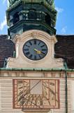 Clock And Sundial