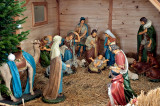 Nativity Scene At Church Of St. Francis Of Assisi