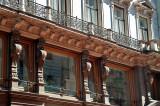Lions Under Balcony