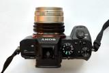 length = 50mm, weight = 193g (as an E-mount lens)