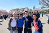 with Sakura in Ueno @f3.5