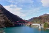 Man made lake in Kurobe