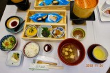 Dinner at Ryokan in Unazuki